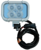 LED Spreader Light for Boats - 720 lumens - 1 amp draw - Surface or Rail Mount - 9-42V - 90'L X 70'W -- LEDLB-4W
