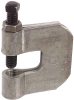 5/8-11 C Style Steel Plain Finish Beam Clamp for Vertical Loads -- SCC-5811BK