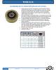 Extreme Duty Polyurethane on Steel Wheel -- W-10-EPS-9400-T - Image
