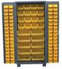 PLASTIC BIN WELDED CABINET - SOLID DOORS -- HDF236-BL - Image