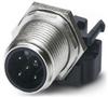 Male Ctr Straight Single 60VAC 4A -- 78037398006-1