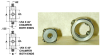 Round Screw Type F Gear Clamps (inch) -- S3600Y-J129 -Image
