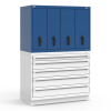 R2V Vertical Drawer Cabinet, 4 Drawers (48