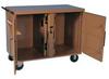 Rolling Work Bench,46-1/4 x25x37-1/2,Tan -- 13R521