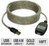 Tripp-Lite U026-016 USB 2.0 Active Extension Cable - 16ft, U -- U026-016