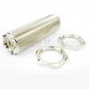 UHF Female (Jack) to UHF Female (Jack) Bulkhead Adapter, Nickel Plated Brass Body -- SM2103 - Image