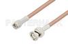 SMA Male to BNC Male Cable 24 Inch Length Using PE-P195 Coax -- PE33989-24 -Image