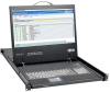 1U Rack-Mount Console with 19 in. LCD, 1920 x 1080 (1080p), DVI or VGA Video, TAA -- B021-000-19-HD2