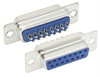 DB15 Female Solder Connectors, Tray 70 -- SD15S-TRAY - Image