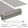 Rectangular Cable Assemblies -- M1MXK-5036J-ND -Image