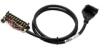 CABLE 20-TERM/24-PIN 1m (3.3ft) ZIPLINK FOR P3000 PAC -- ZL-P3-CBL20-1 - Image