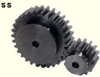 176mm PD Steel Spur Gears -- SS8-22-Image