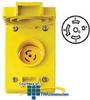 Leviton 20 Amp Wetguard Flush Mount Locking Receptacle.. -- 67W81