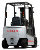 4-Wheel AC-powered Forklift, Nissan Forklift -- QX Platinum Series