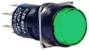 ILLUMINATED PUSH BUTTON,GREEN,DPDT,1A,240V -- 15C0241 - Image