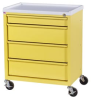ETC Line Four Drawer Economy Treatment Cart ETC-4 -- ETC-4 -- View Larger Image