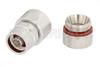 N Male Connector Clamp/Non-Solder Contact Attachment for LMR-600, PE-C600 -- EZ-600-NMC-2-D