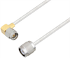 SMA Male Right Angle to TNC Male Cable Assembly using LC085TB Coax, 4 FT -- LCCA30558-FT4 -Image