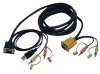 Tripp Lite P756-010 - Video / USB / audio cable - HD-15, min -- P756-010