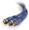 1.5ft Velocity™ RCA Audio/Video Cable -- 2203-40007-002 - Image