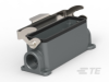 Rectangular Connector Hoods & Bases -- T1610243221-000 -Image