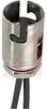 Hldr, Lamp; Candelabra Bayonet; 12 V; 25 W; Electro-Tinned Plated Steel (Shell) -- 70214077 - Image