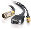 3ft RapidRun® HD15 Male + Composite Video Flying Lead -- 2212-40877-003