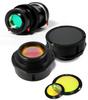 Scanning laser system optics