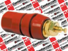 DANAHER MOTION BP30R ( BINDING POST, 30A, #8-32, STUD, RED; PRODUCT RANGE:5-WAY SERIES; CURRENT RATING:30A; VOLTAGE RATING:1KV; CONTACT PLATING:GOLD PLATED CONTACTS; CONTACT MATERIAL:BRASS; CONNECT... -Image