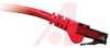 Cord, Patch; 3 ft.; Cat 6; Booted; Red -- 70121155