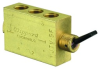 4-Way Fully Ported Toggle Valve -- MJTV-5F -Image