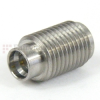 SMA Female (Jack) to SMP Male (Plug) Full Detent Adapter, Passivated Stainless Steel Body, High Temp, 1.2 VSWR -- SM8820 - Image