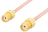 SMA Female to SMA Female Cable 24 Inch Length Using RG405 Coax -- PE3109-24 -- View Larger Image