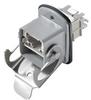 Passive Industrial Ethernet IP67 Plug-In Connector V5 Rockstar® Sets - RJ45 -- IE-BS-V05M-RJ45-FJ-P -- View Larger Image