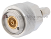 7mm Sexless to SSMA Male (Plug) Adapter, Passivated Stainless Steel Body, 1.15 VSWR -- SM3372 - Image