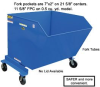 PORTABLE STEEL HOPPERS -- HP-HOP-0.5