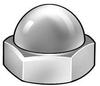Acorn Nut,Nylon,5/8-11,PK5 -- 4AGD8
