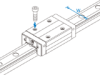 Linear Motion Guide SNR and SNS -- SNS35R -Image