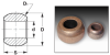 Sintered Bronze Spherical Bearings (metric) -- A 7B 4MS122416
