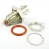 10-32 Female (Jack) to BNC Female (Jack) Bulkhead Adapter, High Temp, 1.2 VSWR -- SM2406 - Image