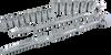 20 Pieces 12 Point Standard SAE Socket Set -- 38120
