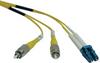 Duplex Singlemode 8.3/125 Fiber Patch Cable (LC/FC), 2M (6-ft.) -- N378-02M - Image