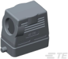 Rectangular Connector Hoods & Bases -- T1330100125-000 -Image
