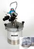 Pressure Cup -- SG-2 Plus Steadi-Grip 2Qt. Prop Agit Cup