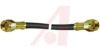 SMA CABLE ASSEMBLY, STRAIGHT PLUG TO STRAIGHT PLUG, RG-58/U, 12 INCHES -- 70032211