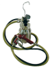 Remote Cup Outfit -- 95SL Spray Gun, Hoses & Steadi-Grip Cup -- View Larger Image