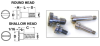 Slotted Head Shoulder Screws (inch) -- S7094Y-G42-0606 -Image