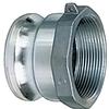 Aluminum Part A Male Adapter x Female NPT -- AL-A Series -Image