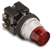 30 mm Extended Illuminated Pushbutton -- HT8GB Series - Image