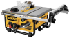"10"" Compact Job Site Table Saw with Site-Pro Modular Guarding System -- DW745"